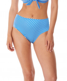 SWIMWEAR : High waisted full swim briefs