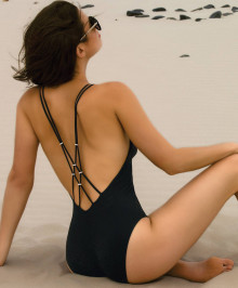 One piece sexy swimsuit
