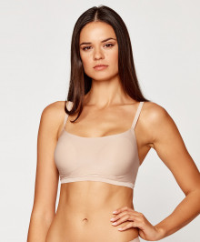 Invisible Bras : Padded bralette ajustable thin straps